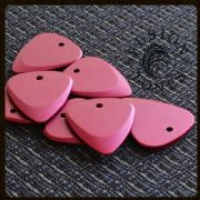 Fusion Tones - Red - 1 Guitar Pick | Timber Tones